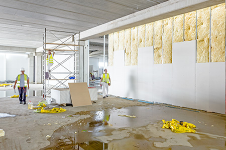 Cloisons en plâtre - entreprise de bâtiment à Lille