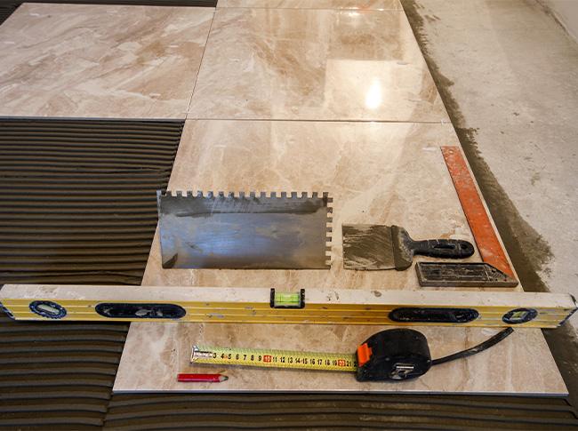 Revêtement de sols, pose de carrelage à Tourcoing, Lille